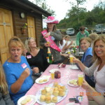 hen party llama trek